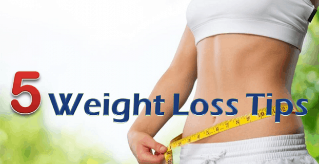 5 Weight Loss Tips