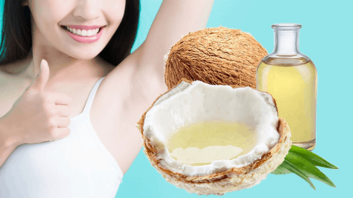Coconut Oil For Whitening Underarms