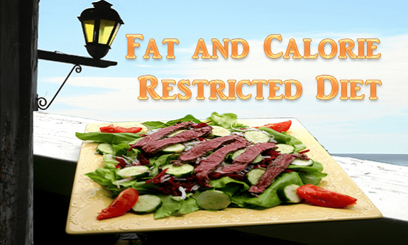 Diet With Low Calories