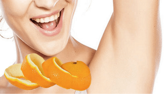 Orange Peel For Dark Armpit