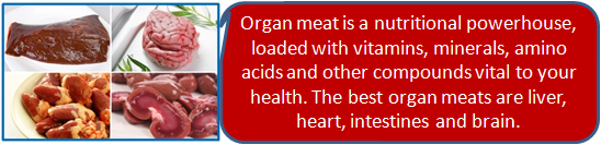 Organ Meats For Good Health