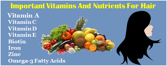 Vitamins And Nutrients For Hair Growth