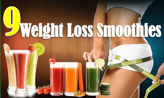 9 weight loss smoothies