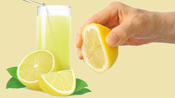 A Glass Of Lemon Juice