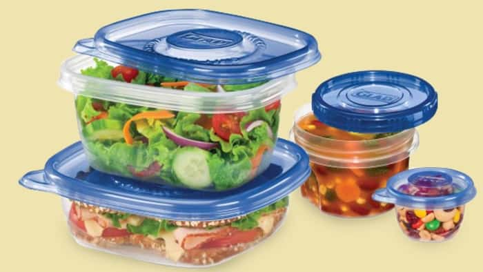 Foods Kept In Plastic Containers