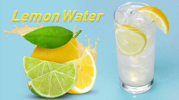 Lemon Water for Good Health