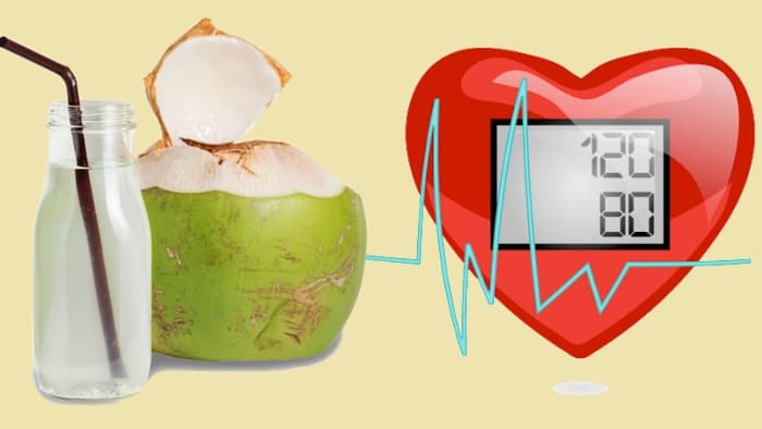 Coconut Water Reduces Blood Pressure