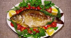 Fried Fish In A Plate