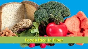 Foods Rich In Fiber