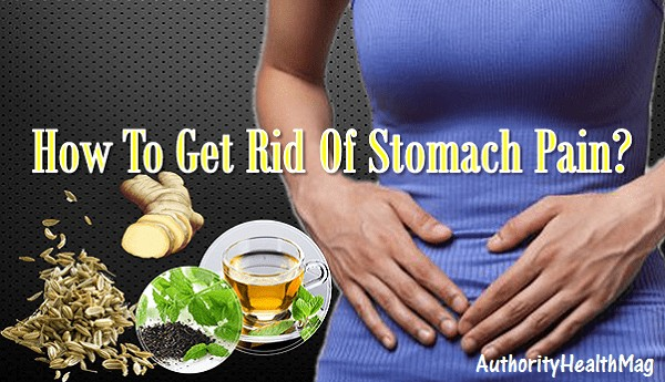 How To Get Rid Of Stomach Pain