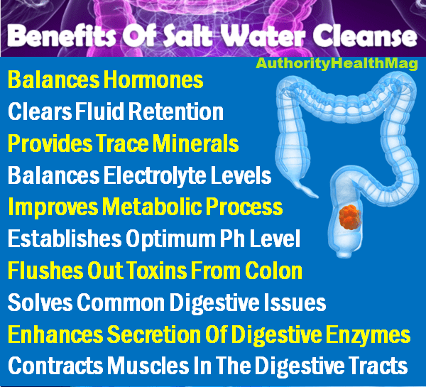 Benefits Of Salt Water Cleanse