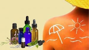 Sunburn Treatment With Essential Oils