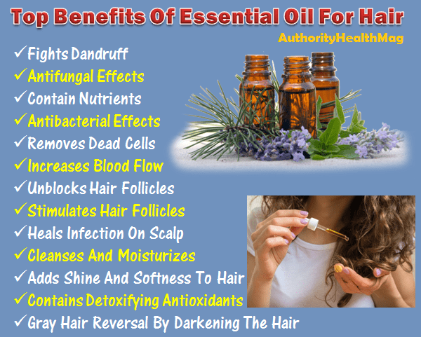 benefits of essential oils for hair loss