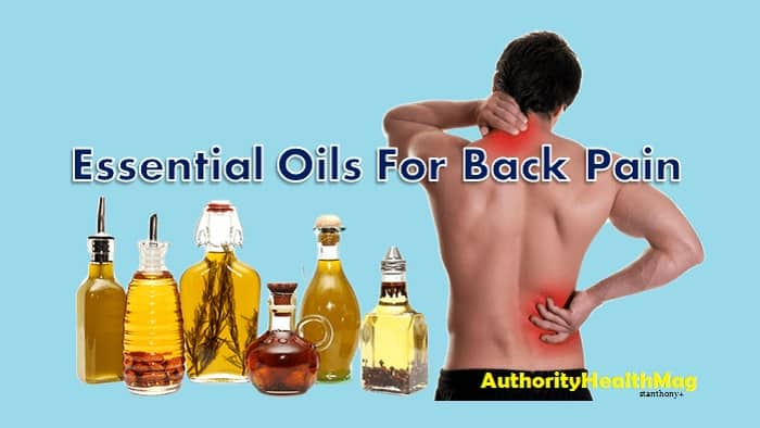 Back Pain Treatment With Essential Oil