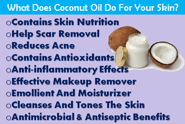What Does Coconut Oil Do For Your Skin