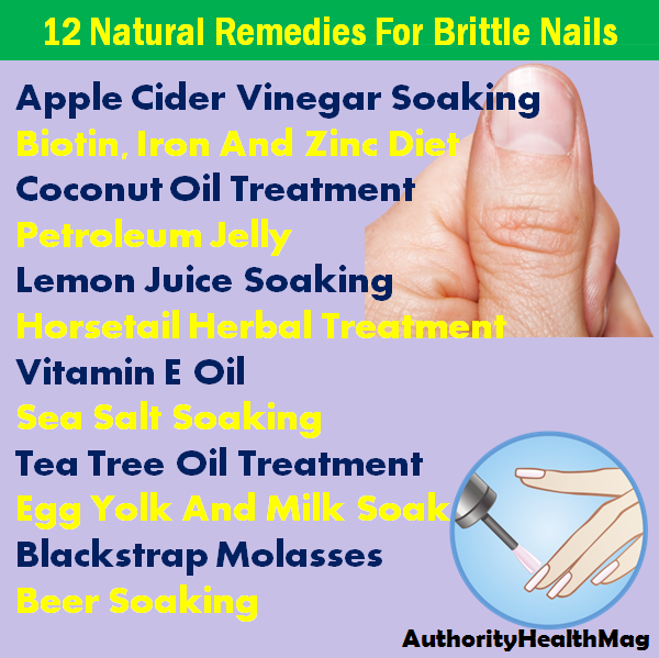 Natural Remedies For Brittle Nails