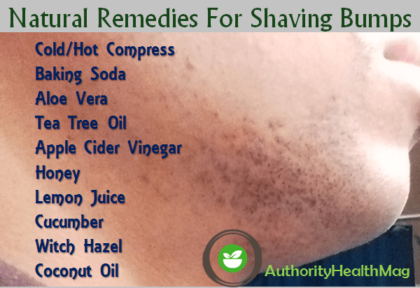 Natural Remedies For Razor Bumps