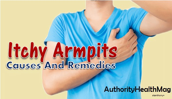 Itchy Armpits Causes And Remedies