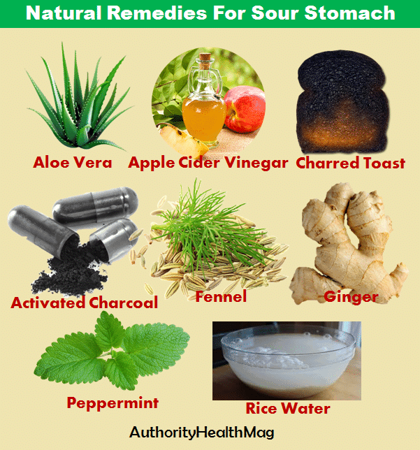 Top Natural Remedies For Sour Stomach