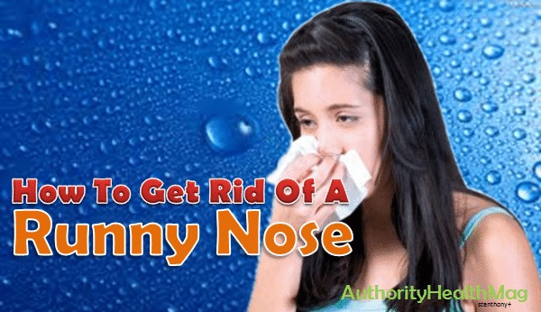 Runny Nose Causes, Symptoms, Treatments And Natural Remedies