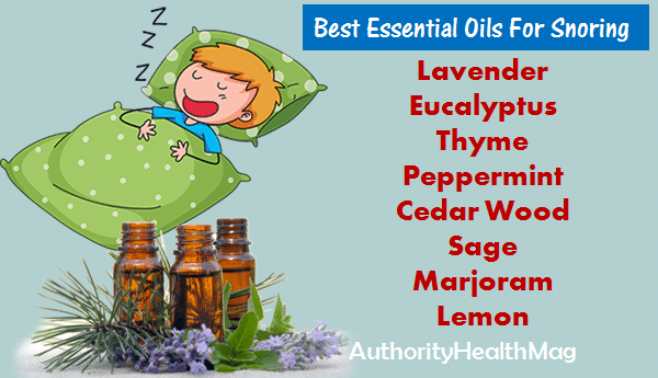 Essential Oils For Snoring That Really Help