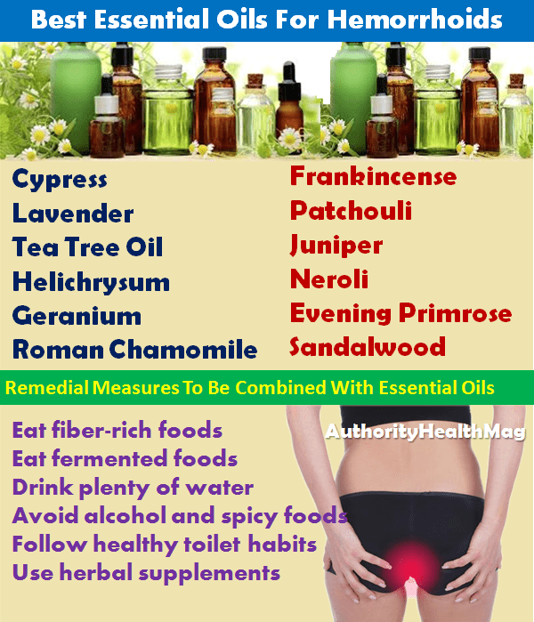 Best Essential Oils For Piles
