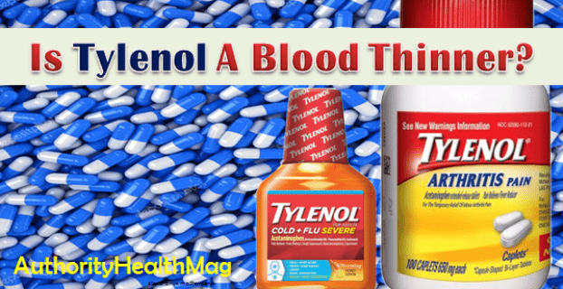 Does Tylenol Thin Your Blood