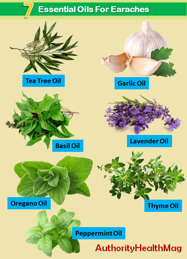 Best Essential Oils For Ear Infections