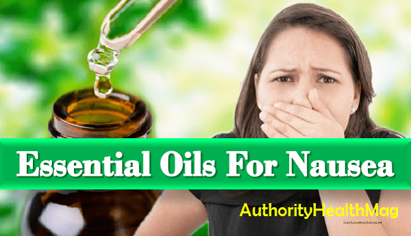 Essential Oils For Nausea And Motion Sickness