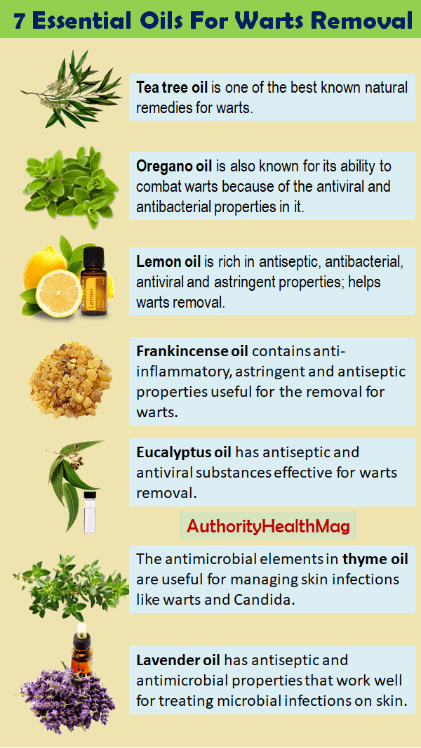 7 Essential Oils For Warts Removal
