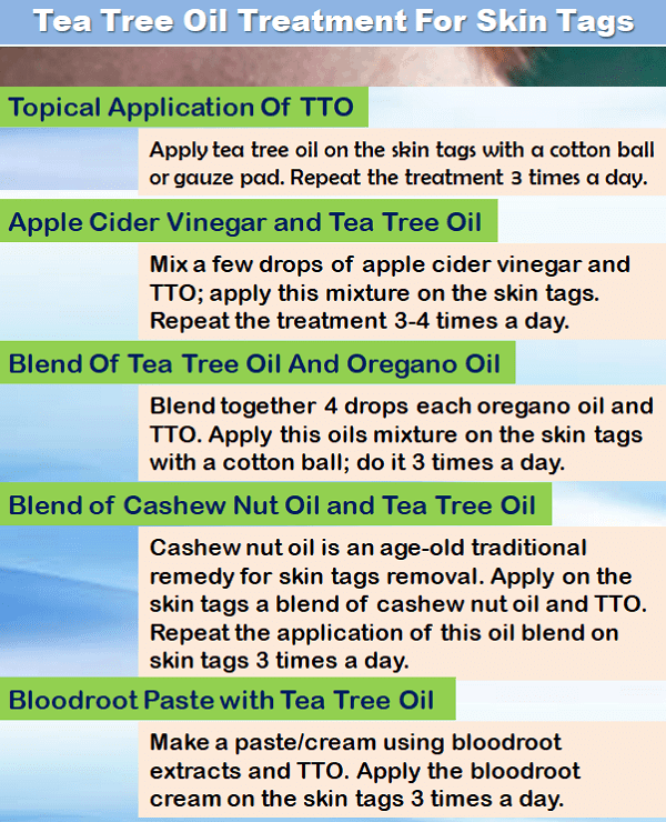How to use tea tree oil for skin tags