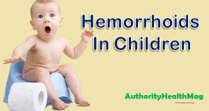 Hemorrhoids In Children