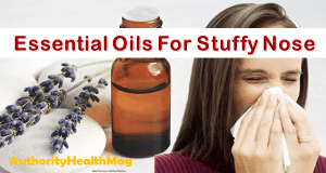 essential oils for stuffy nose