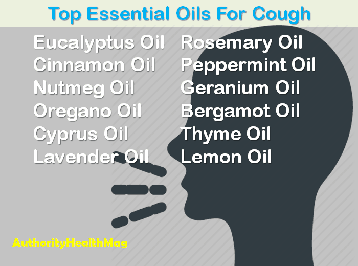 Top Essential Oils For Cough