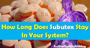 How Long Does Subutex Stay In Your System