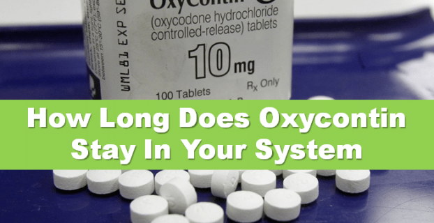 How Long Does Oxycontin Stay In Your System