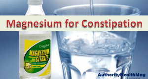 Magnesium For Constipation