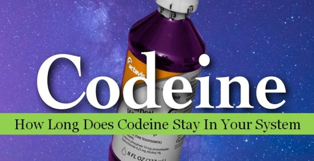 how long does codeine stay in your system