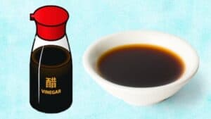 Chinese black vinegar substitute