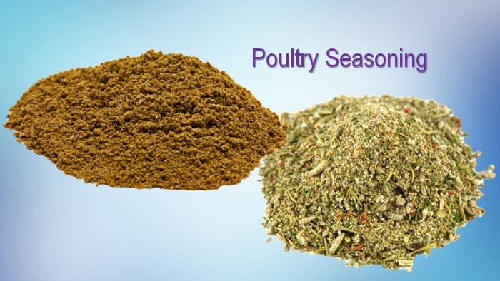 a flavorful poultry seasoning substitute