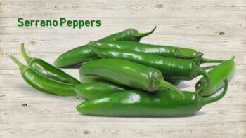 serrano pepper substitute, serrano chili substitute, serrano chile substitute