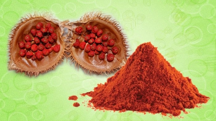 Achiote Powder And Seeds